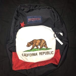 California republic jansport backpack